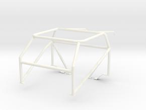 roll cage 1/12 V6 in White Processed Versatile Plastic
