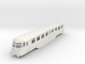 0-87-gwr-railcar-buffet-36-38-1a in White Natural Versatile Plastic