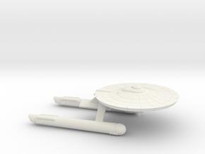 3788 Scale Franz Joseph Federation Tug (No Pods) in White Natural Versatile Plastic