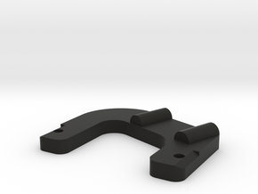 TRAY SUPPORT TILT - DS - V1 in Black Natural Versatile Plastic