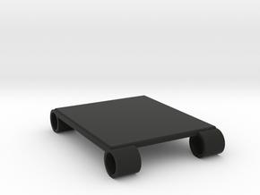 Steadicam M1 Monitor Rails Accessory Plate -  85mm in Black Natural Versatile Plastic