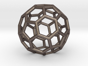 Buckyballs Geodesic Dome Fullerene in Stainless Steel