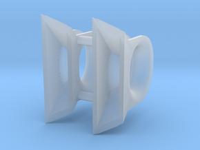 ASD 2810 - fairlead (2 pcs) in Smooth Fine Detail Plastic