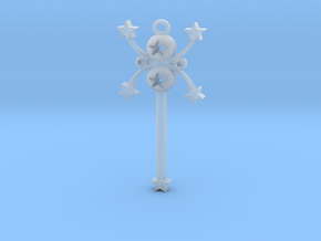 star wand in Smooth Fine Detail Plastic