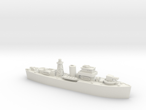 HMNZS Kiwi 1/700 in White Natural Versatile Plastic