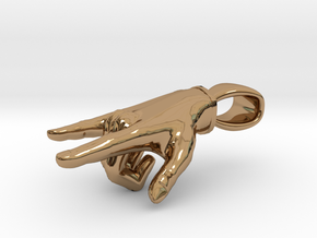 Punk Hand in Polished Brass