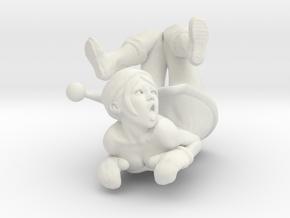 Printle V Femme 955 - 1/30 - wob in White Natural Versatile Plastic