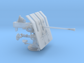 1/35 DKM 3.7cm Flak M42 Single Mount in Smooth Fine Detail Plastic
