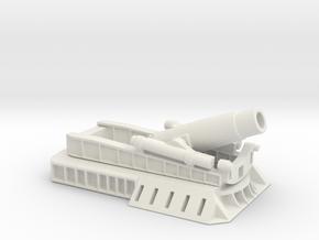 370 Filloux mortar 1/72 ww1 artillery  in White Natural Versatile Plastic