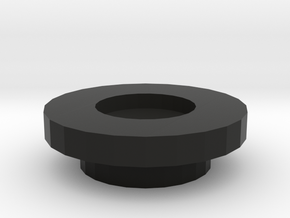 Bushing in Black Natural Versatile Plastic
