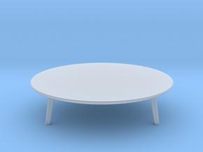 Miniature Minotti Sullivan Table V1 - Minotti in Smooth Fine Detail Plastic: 1:12