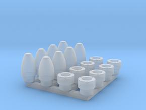 Nascar Hubs in Smoothest Fine Detail Plastic: 1:24