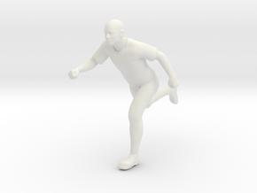 running-man  in White Natural Versatile Plastic