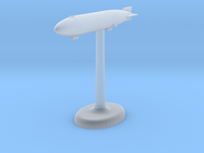 Zeppelin German Airship in Smooth Fine Detail Plastic
