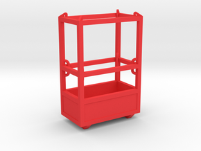 1-50 Man Basket 2P in Red Processed Versatile Plastic