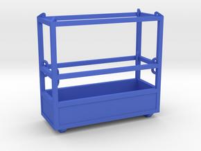 1-50 Man Basket 3P in Blue Processed Versatile Plastic