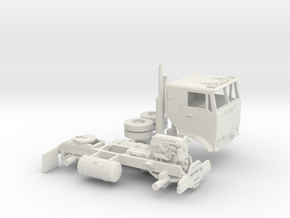 1/64 GMC Crackerbox in White Natural Versatile Plastic