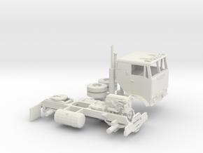 1/64 GMC Crackerbox in White Natural Versatile Plastic