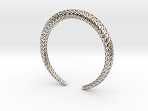 DRAGON Solid, Bracelet. Pure, Strong. in Platinum: Medium