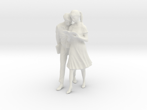 Printle V Couple 137 - 1/22.5 - wob in White Natural Versatile Plastic