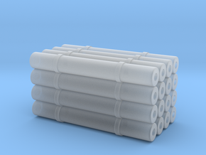 1/64 Pallet of Net Wrap in Smooth Fine Detail Plastic