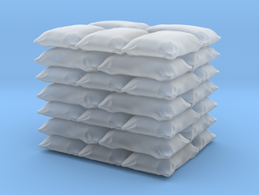 1/64 Pallet of Bags  in Smooth Fine Detail Plastic