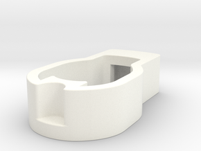 Rear Wheel Button / Clip for Bugaboo Buffalo / Don in White Processed Versatile Plastic