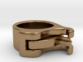 Uncapped Ring in Natural Brass (Interlocking Parts)