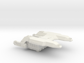 3788 Scale Lyran Cougar Battle Tug CVN in White Natural Versatile Plastic