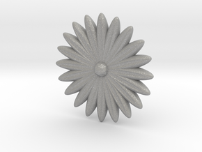 Hole Plug 0002 - flower in Aluminum