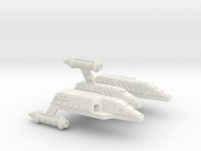 3125 Scale Lyran Yaguarundi Light Carrier CVN in White Natural Versatile Plastic
