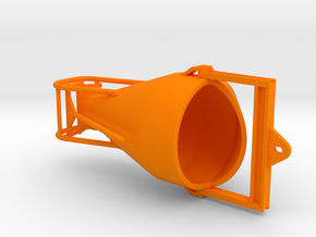1:50 Concretebucket 2000L , Betonkubel 2000L in Orange Processed Versatile Plastic