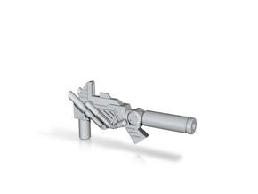 Electron Cannon for PotP Sludge in White Natural Versatile Plastic