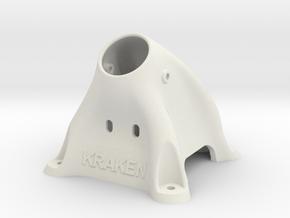 BoltRc Kraken Pod in White Natural Versatile Plastic