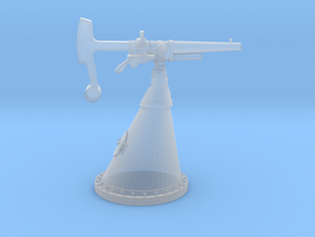 "1/100 Russian 37 mm (1.5"") Gun in Smooth Fine Detail Plastic"