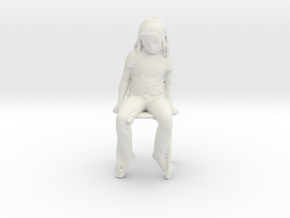 Printle C Kid 038 - 1/32 - wob in White Natural Versatile Plastic