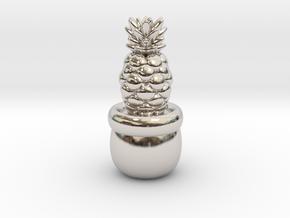 Little Pineapple in Platinum