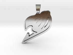 Fairy Tail [pendant] in Polished Silver