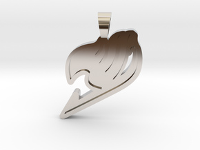 Fairy Tail [pendant] in Rhodium Plated Brass