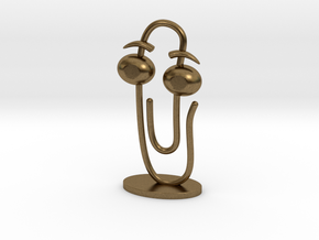 CLIPPY 2.0 (small) in Natural Bronze
