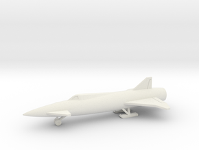 (1:144) Avro Z.101 Manned Blue Steel in White Natural Versatile Plastic
