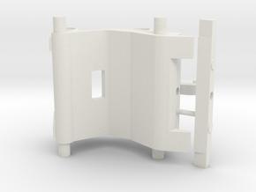 Snelwissel cw30 7,5mm in White Natural Versatile Plastic
