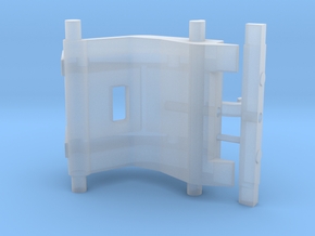 snelwissel 5,5MM 3D in Smooth Fine Detail Plastic