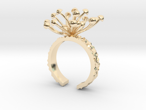 A Bunch Of Mushroom in 14K Yellow Gold