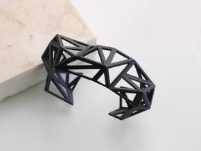 TRIANGULATED CUFF     in Black Strong & Flexible: Extra Small