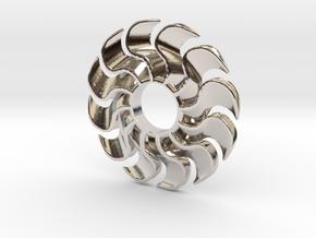 Fidget Turbofan in Platinum