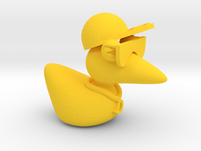 The Cool Duck in Yellow Processed Versatile Plastic