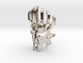 [G1] Mask of Creation in Rhodium Plated Brass