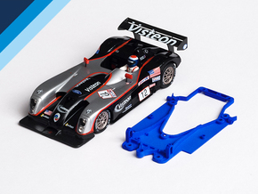 1/32 Fly Panoz LMP-1 Chassis for ThunderSlot pod in Blue Processed Versatile Plastic