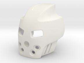Bionicle - Stylized Pakari (Axle connection) in White Premium Versatile Plastic